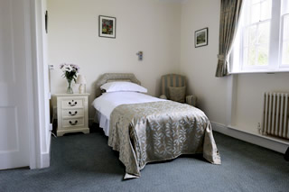 Image of a single ensuite room